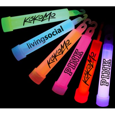 "4"" Glow Stick With Lanyard & Hook - As Low As $0.58"