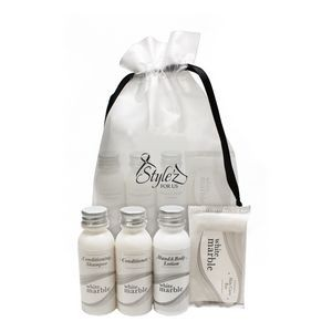 White Marble Amenity Kit