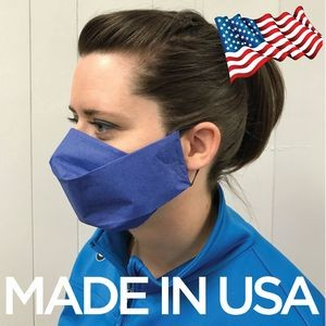 6 Ply Disposable Face Masks BLANK - 2 to 3 Production USA MADE